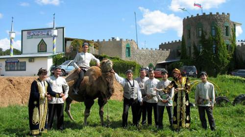 Чайхана у верблюда