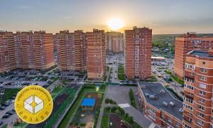Евро-3к квартира, Супонево 4, этаж 15