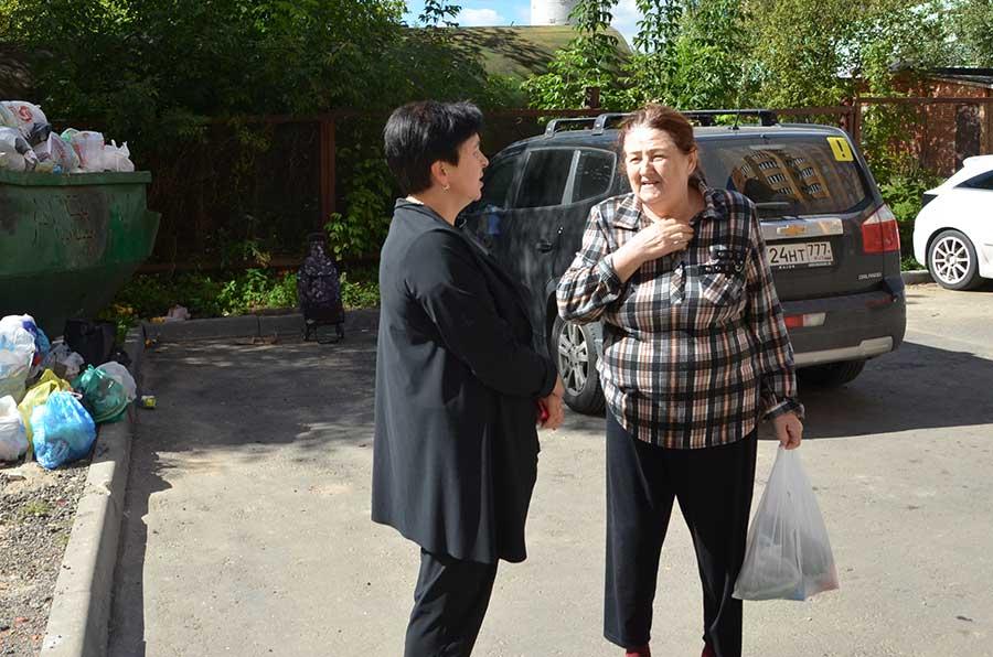 Депутаты встретились с жителями