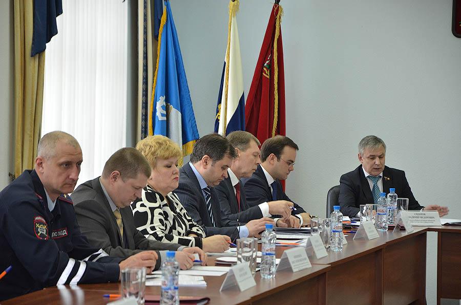 Выездное заседание Комитета по транспорту МО