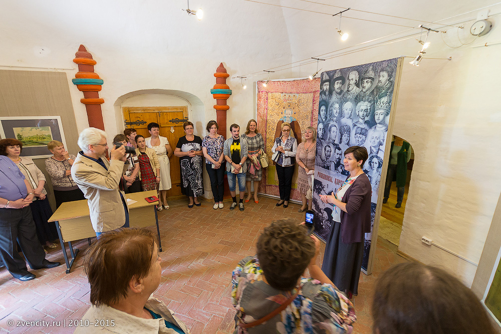 Открытие выставки «Романовы. Царское богомолье»