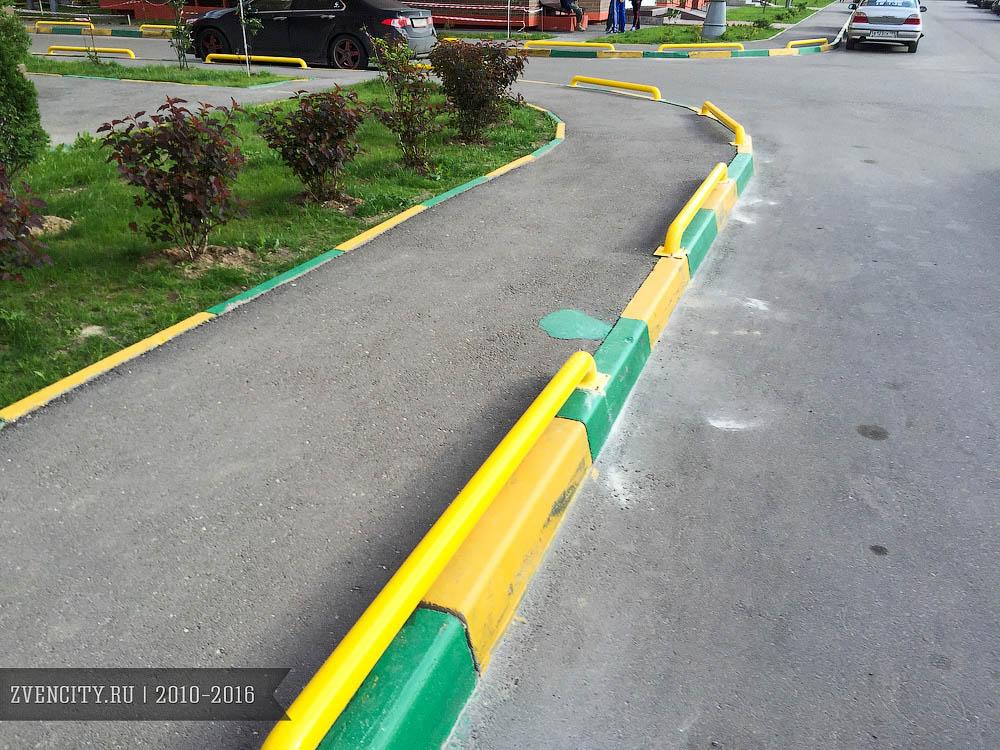 Защита тротуаров в Супонево