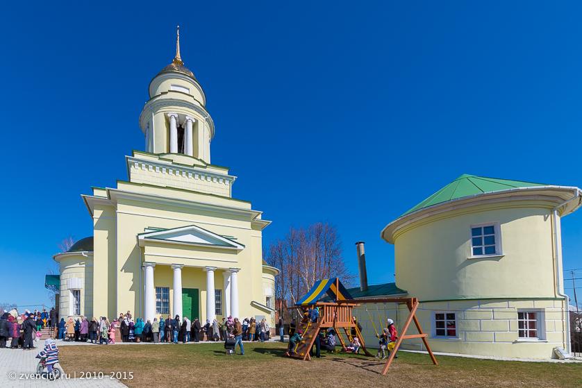 Троицкая церковь в Ершово