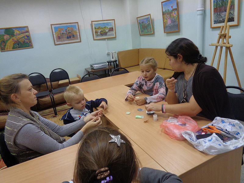 В Звенигородской библиотеке открылась Студия Рукоделия