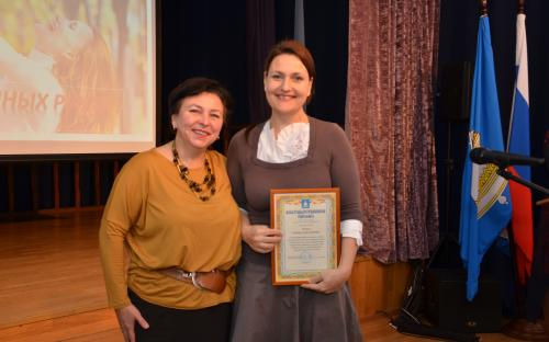 Многодетных мам поздравили в Звенигороде