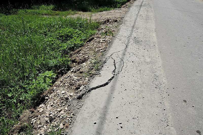 Качество работ при обустройстве дороги в Шихово на ул. Кирова