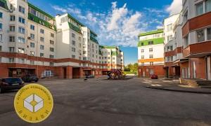 Евро-4к квартира, Красная гора 1к1, этаж 6