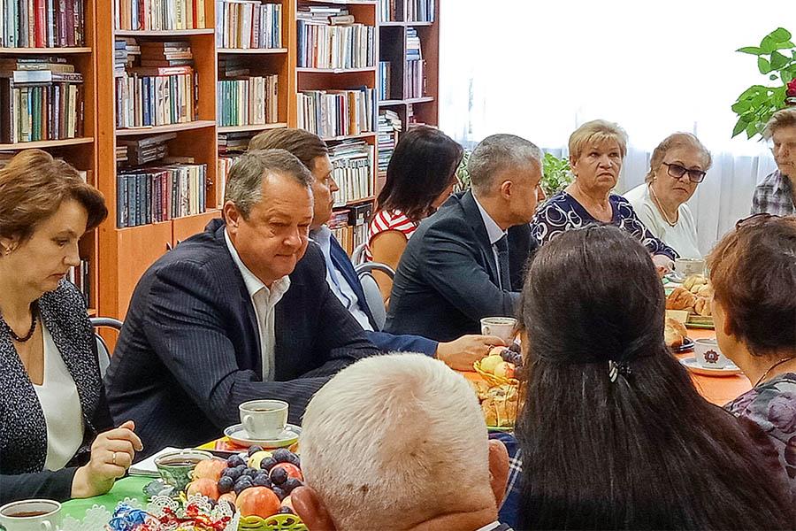 Встреча сторонников партии «Единая Россия»
