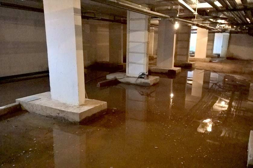 Проблемы с подвалом в мкрн Пронина дом 8
