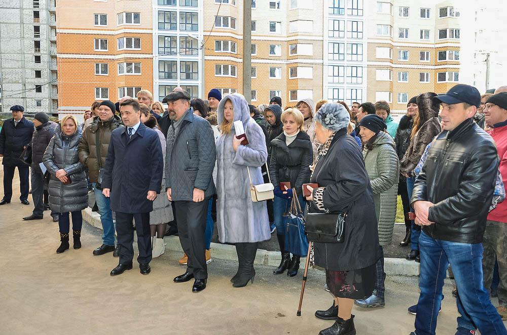 В Звенигороде введены в эксплуатацию два дома обманутых дольщиков
