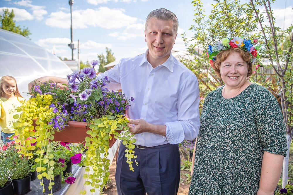 «Любушкины  цветы» открывают лето в Подмосковье