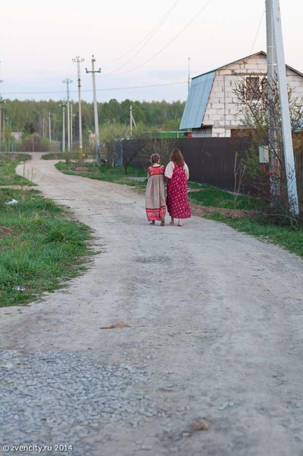 В окрестностях Звенигорода