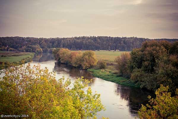 Фотопрогулка по берегу Москва-реки