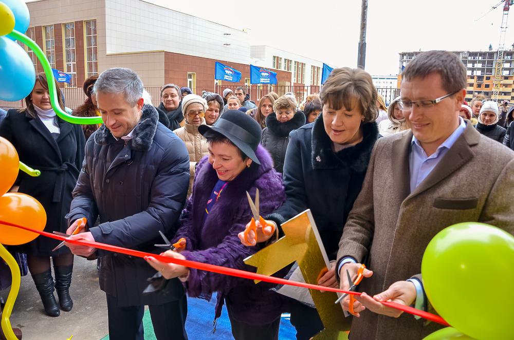 Детский сад «Светлячок» открылся в мкр-не Супонево