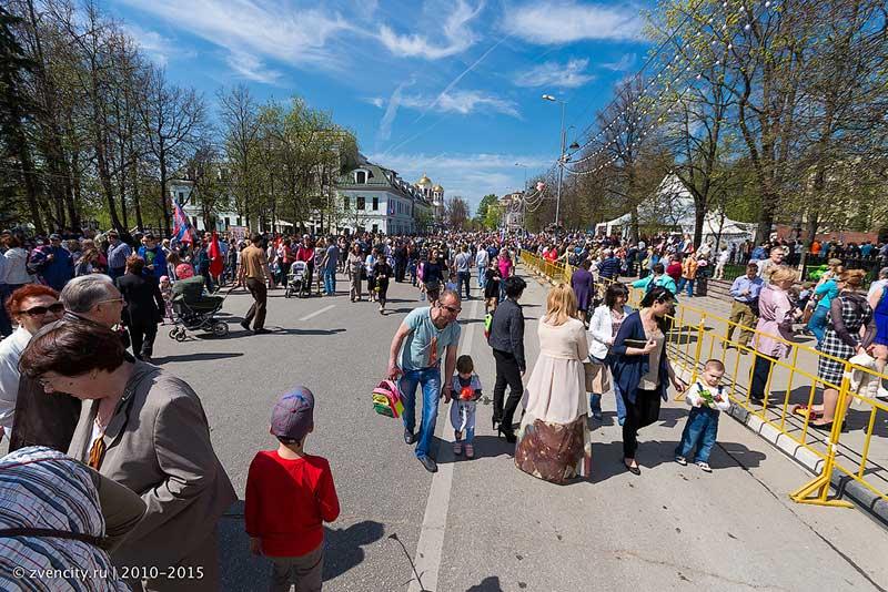 Фото и видео с сегодняшнего праздника 70-летия Победы