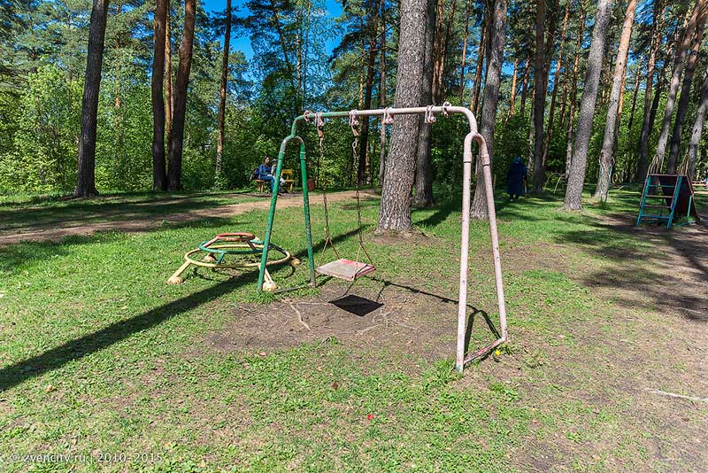 Д/о Поречье - детских площадок практически нет