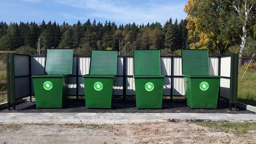 Выбрасываем мусор в специально отведенных местах!