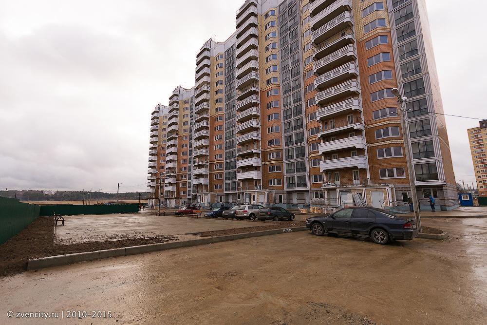 Дом для переселенцев в Звенигороде достроен в рекордные сроки