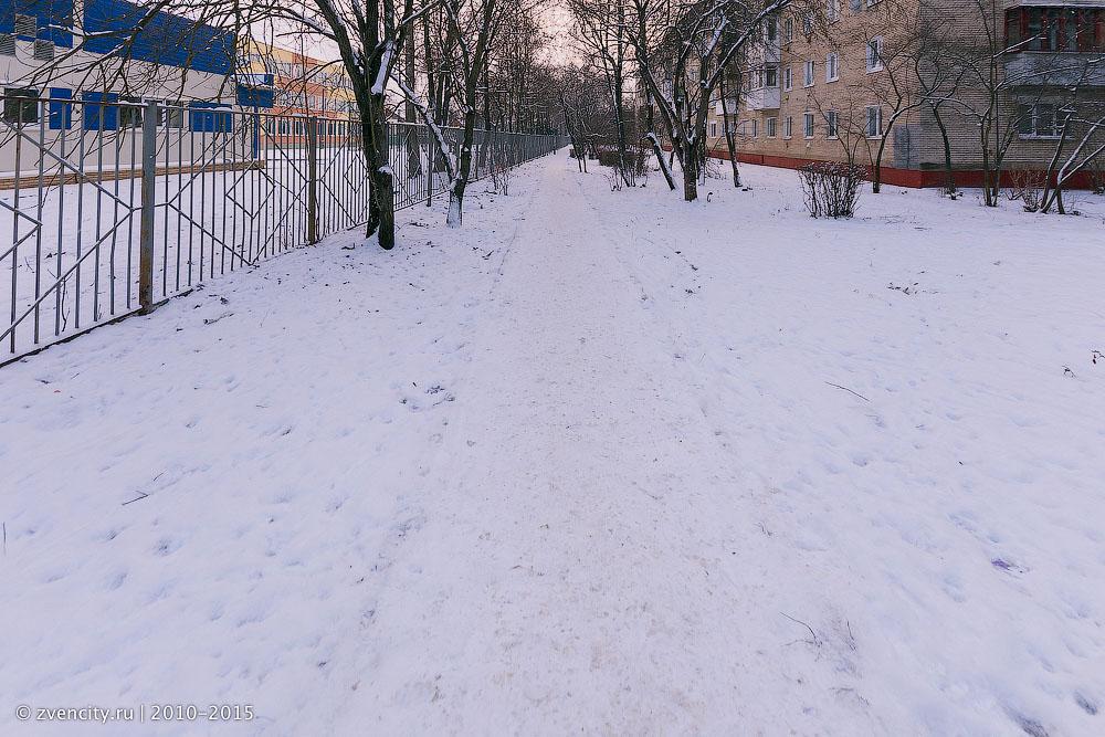 Как стали чистить тротуары от снега