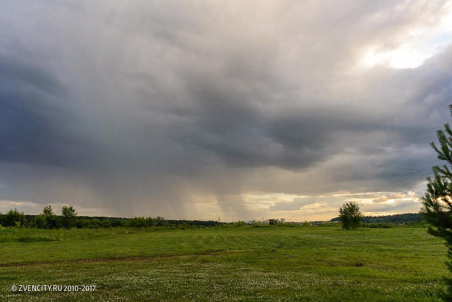 Красивая сторона дождя