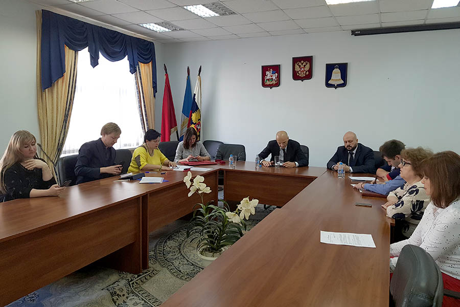 Звенигород посетил Дмитрий Голубков