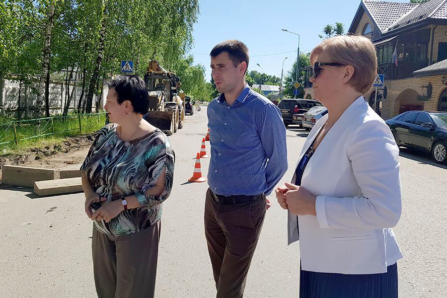 Лариса Лазутина посетила Звенигород