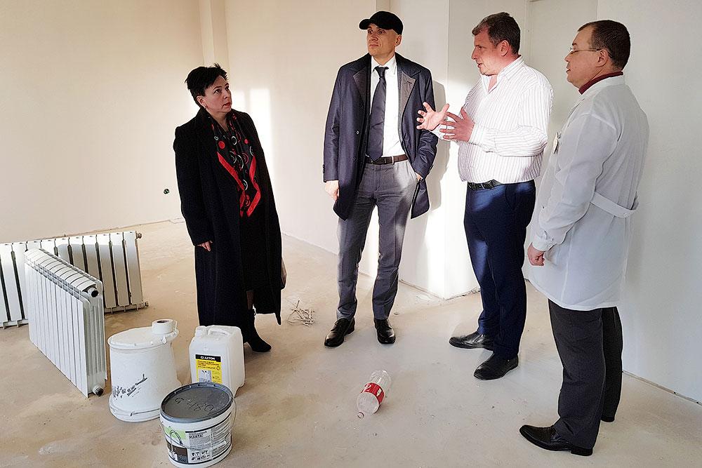 Дмитрий Голубков посетил Звенигородскую больницу