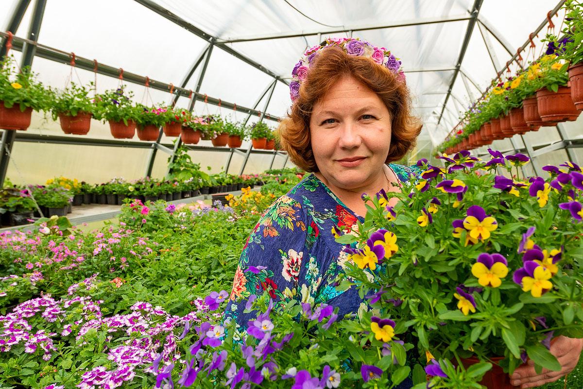 «Любушкины цветы» украсят лето в Подмосковье