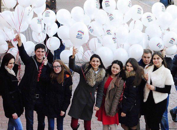 «Единая Россия» поздравила жительниц Подмосковья с Международным женским днем