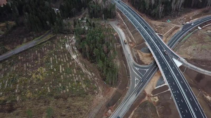 Два участка трассы ЦКАД‑5 планируют построить до декабря
