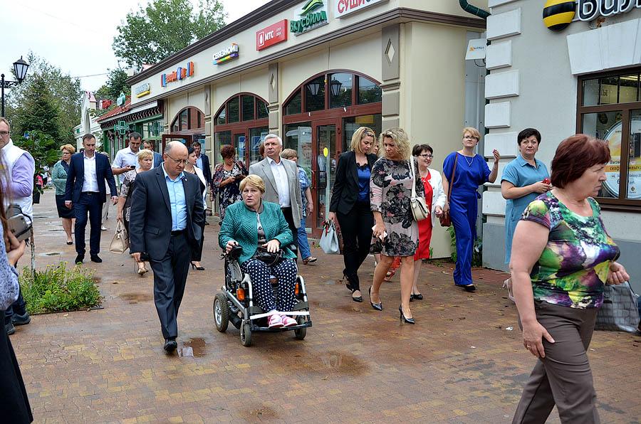 В Звенигороде обсудили развитие доступной среды