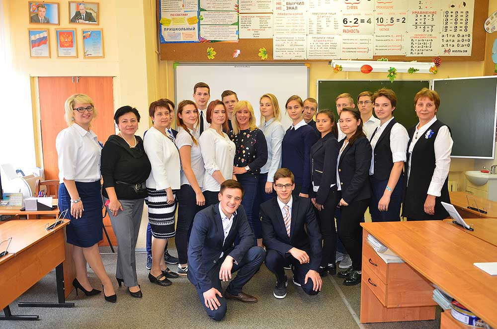 Оксана Пушкина встретилась со звенигородской молодежью