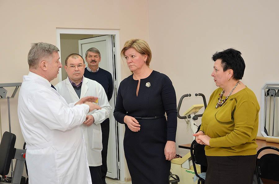 Лариса Лазутина посетила Звенигород в рамках муниципальной недели