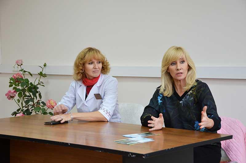 Оксана Пушкина посетила Звенигородскую поликлинику