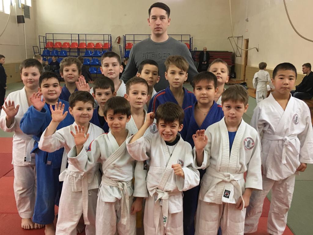 Звенигородские борцы приняли участие в турнире по дзюдо