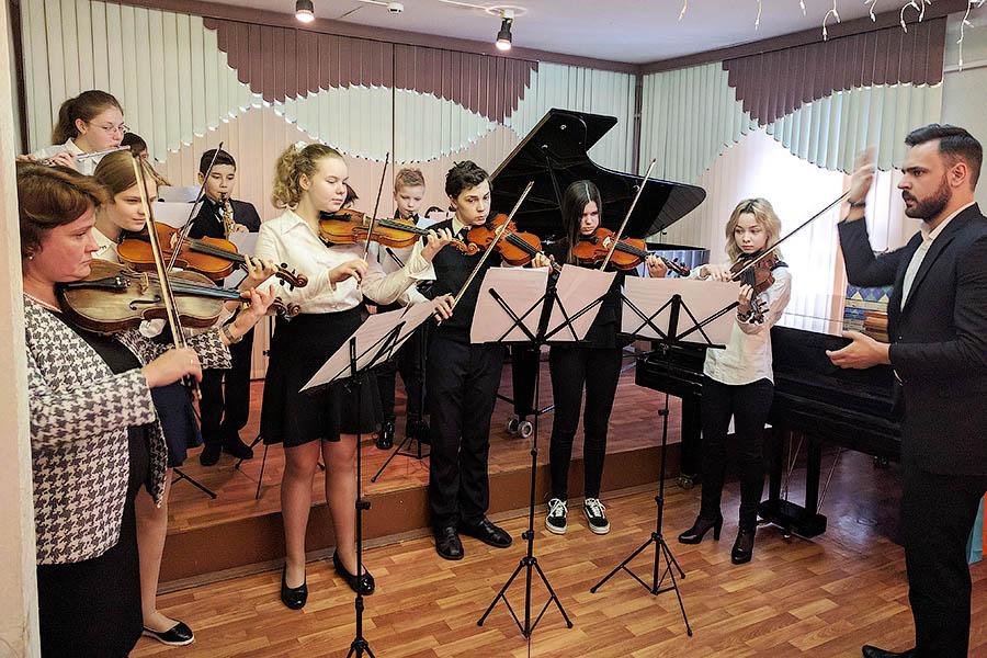 В музыкальной школе Звенигорода состоялся отчетный концерт