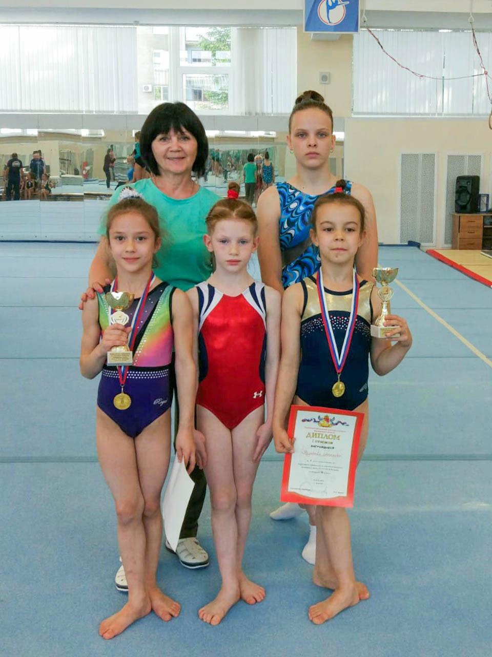 Звенигородские гимнастки вернулись с победой!