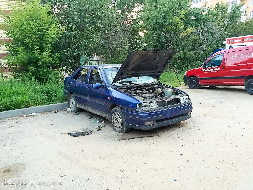 Утилизация бесхозных автомобилей