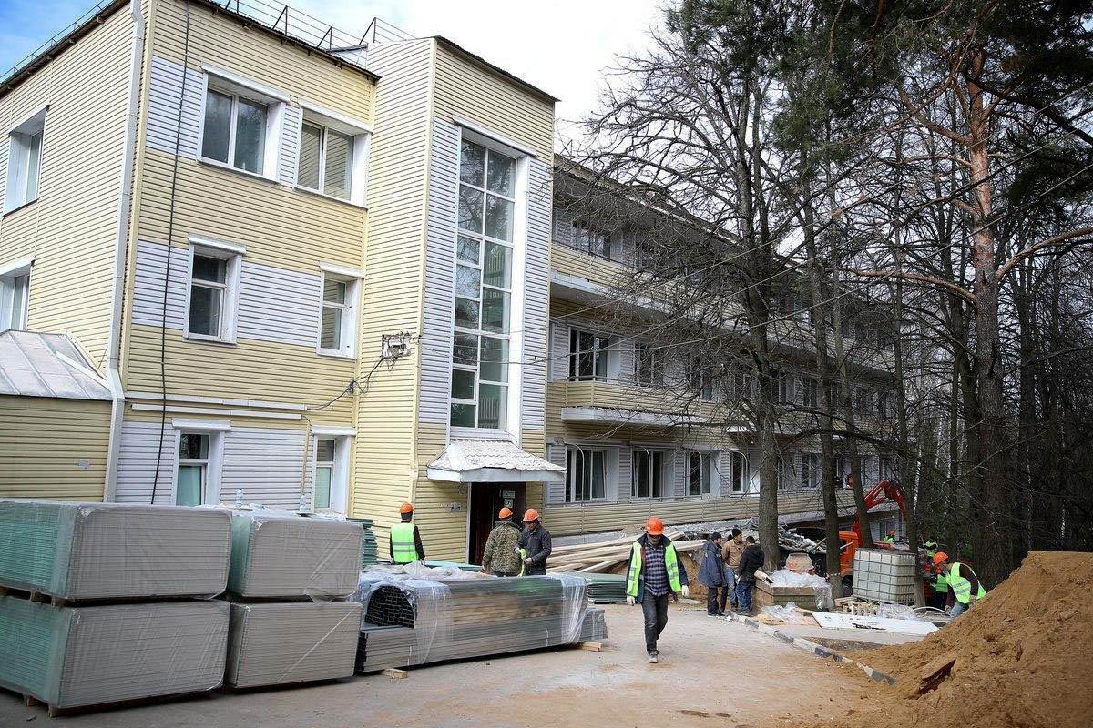 Больница в Звенигороде примет пациентов с коронавирусом