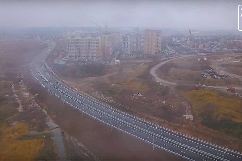 Коптеры «360» взлетели над новым участком ЦКАД