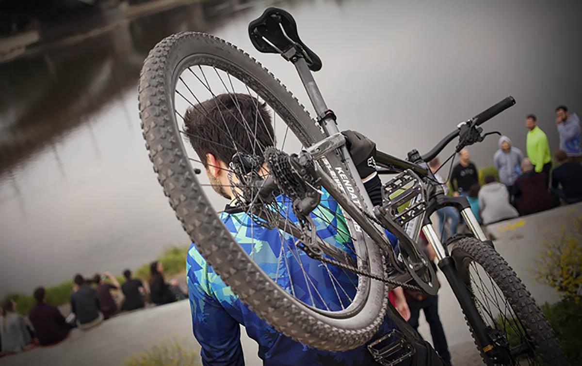 Велосипедный воришка пойман