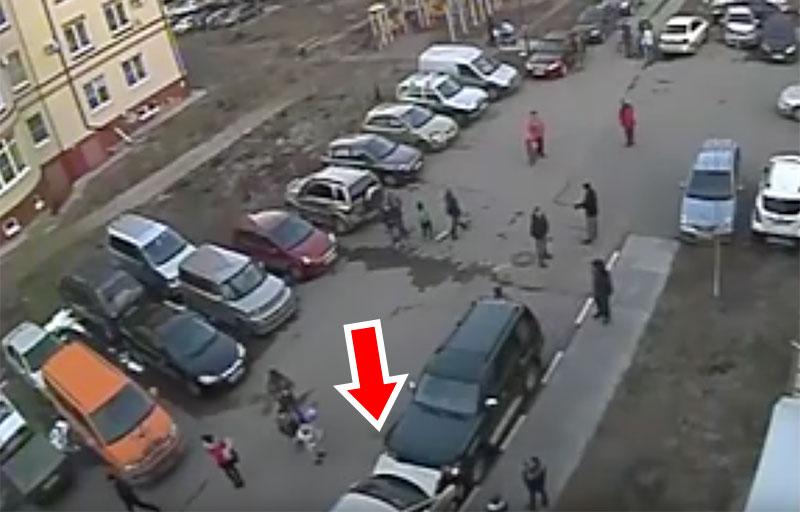 Возмутительное ДТП на ул. Садовой