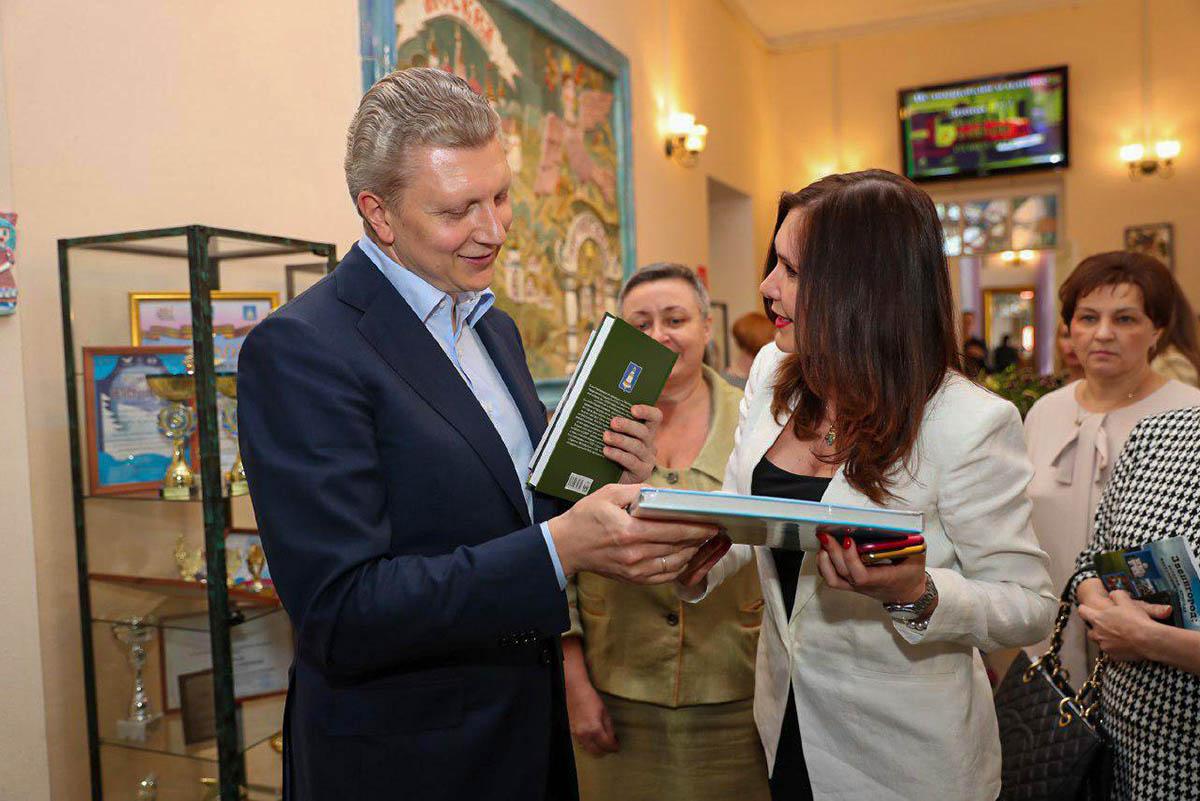 Глава Одинцовского г.о. Андрей Иванов посетил Звенигород