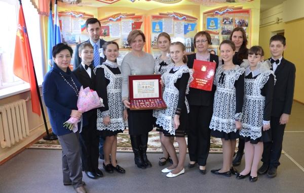 В фокусе Введенская школа