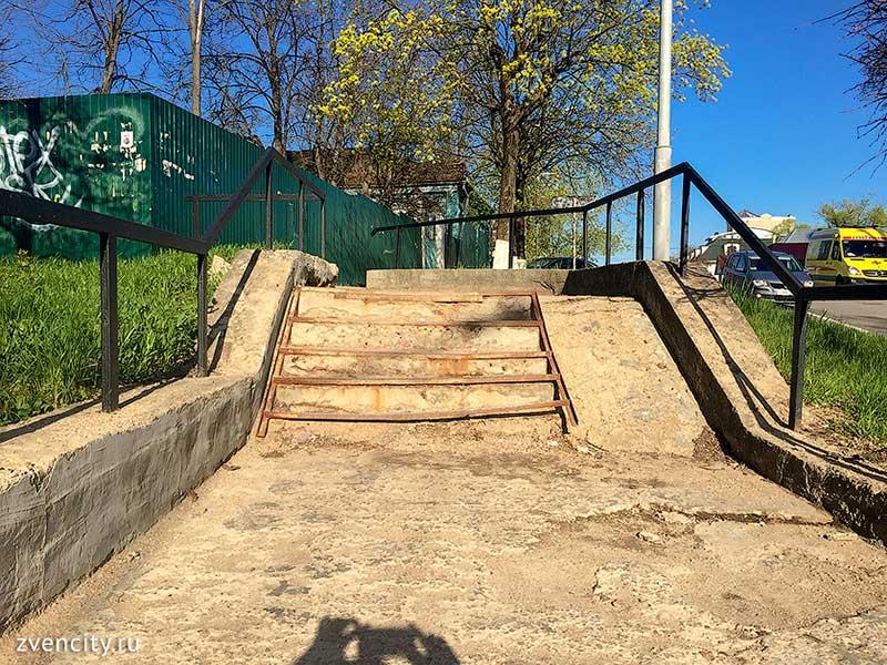 Самая туристическая лестница Звенигорода