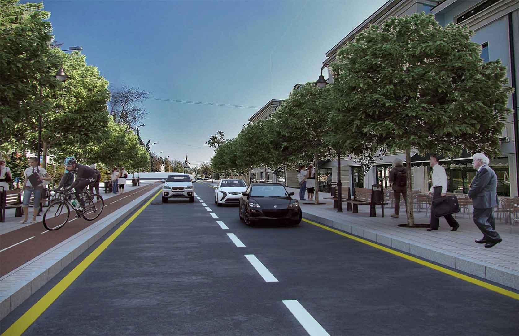 Депутаты обсудили реконструкцию Московской улицы