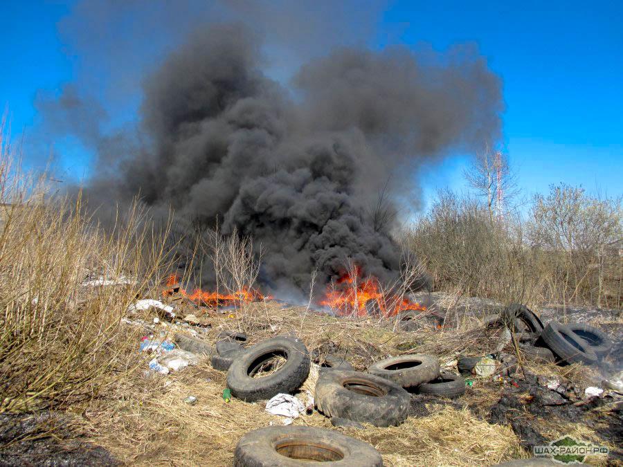 Незаконное сжигание отходов