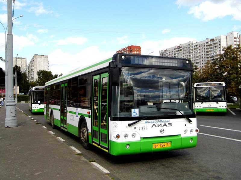 На автобусе в новую школу №4