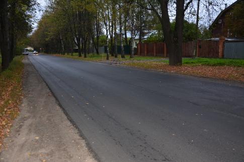 Масштабные работы по ремонту дорог в Звенигороде