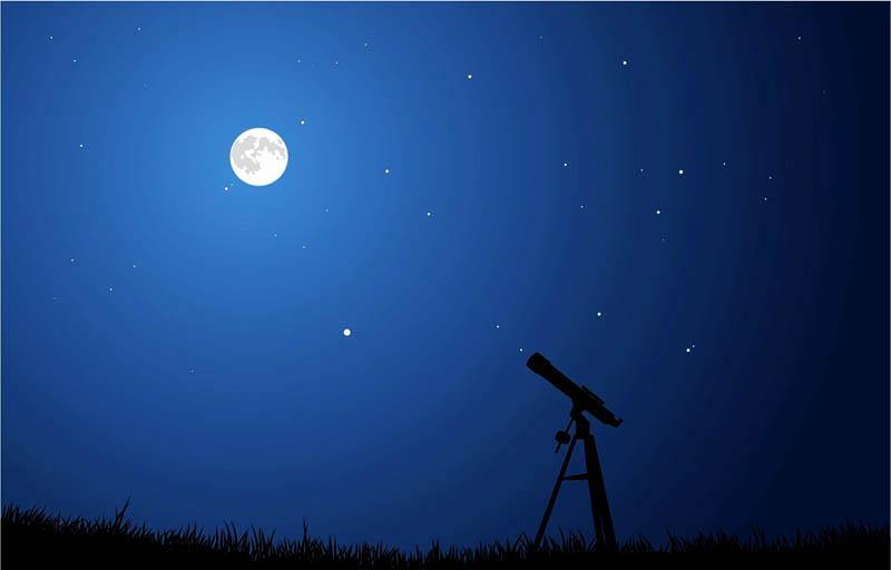 Приходите посмотреть на звёзды!